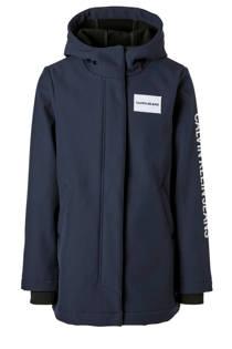 Calvin Klein Jeans softshell jas donkerblauw (meisjes)
