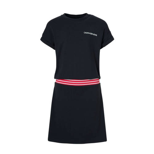 Calvin Klein Jeans jurk zwart kopen