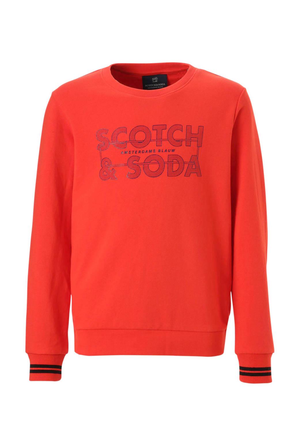 Scotch & Soda sweater oranje, Oranje