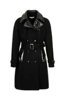 Morgan Georgia May Jagger coat met wol (dames)