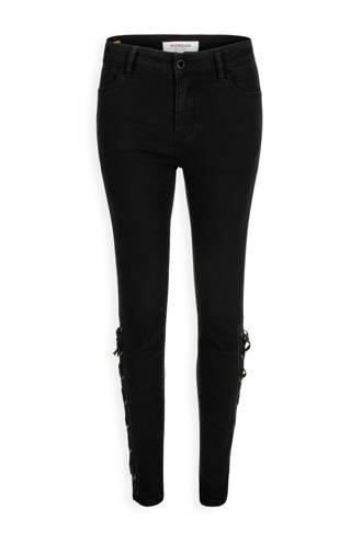Georgia May Jagger 7/8 skinny jeans zwart