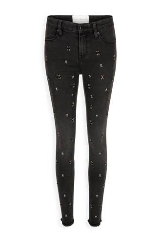 Georgia May Jagger 7/8 skinny jeans met kralen