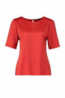 Expresso blouse Nmaddy oranje (dames)