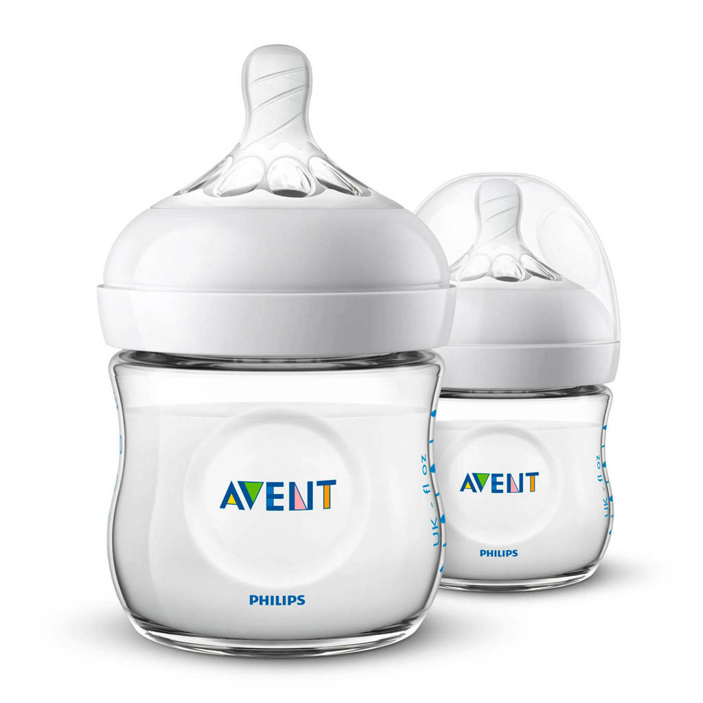 Philips AVENT SCF030/27 voedingsfles Natural 125 ml - 2 pack