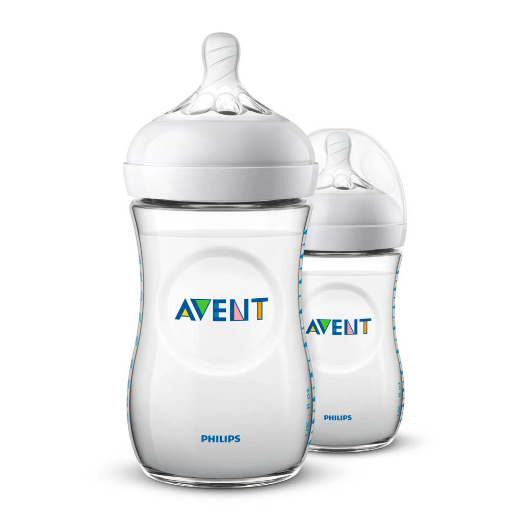 Philips AVENT SCF033/27 voedingsfles Natural 260 ml - 2 pack