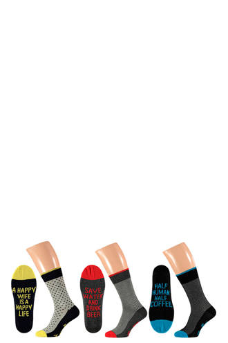 sokken ( 3 paar) geel