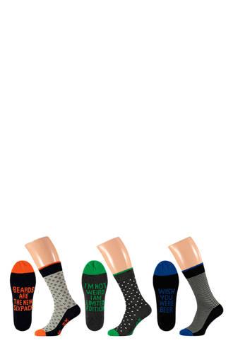 sokken ( 3 paar) oranje