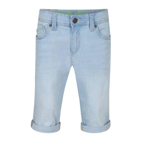 WE Fashion Blue Ridge slim fit jeans bermuda light