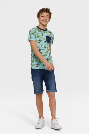Blue Ridge loose fit jeans bermuda