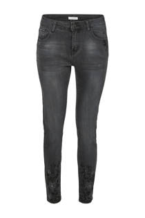 Cassis skinny jeans zwart (dames)
