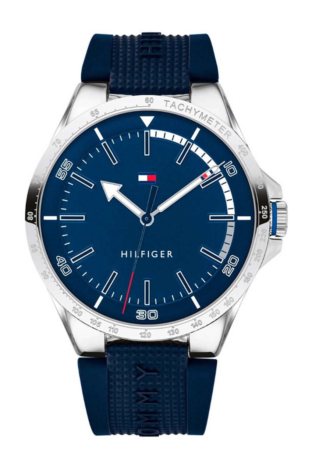 Tommy Hilfiger horloge TH1791542, Blauw/zwart