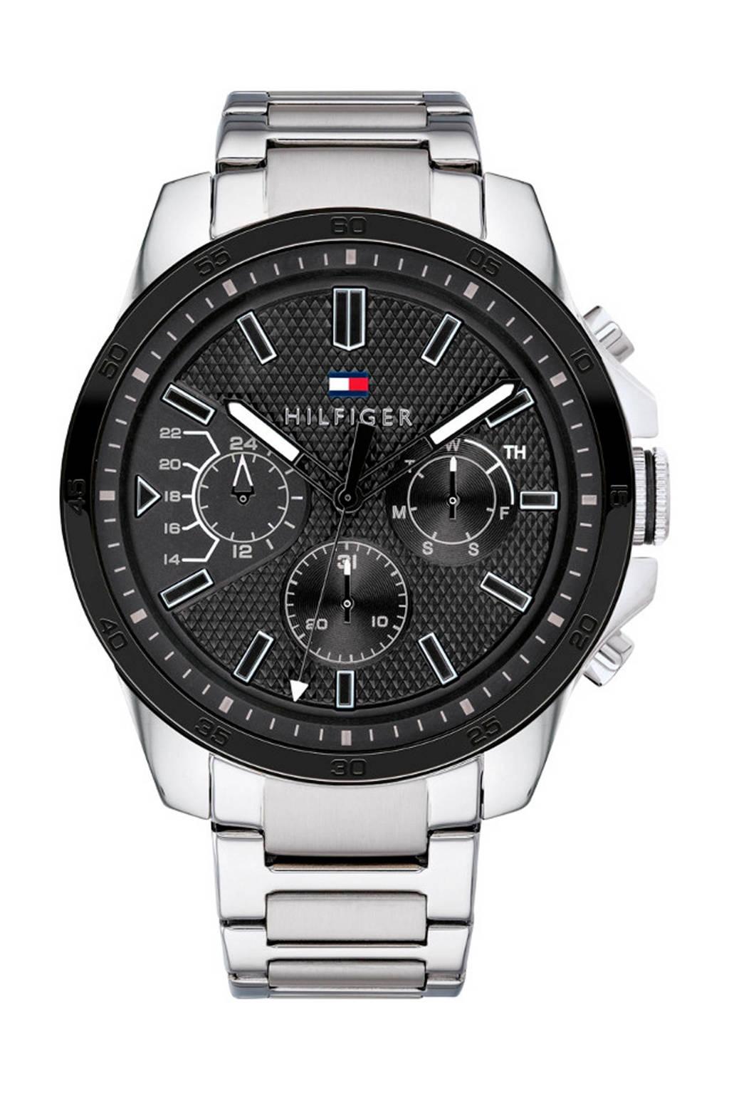 Tommy Hilfiger horloge TH1791564, zwart/zilverkleurig