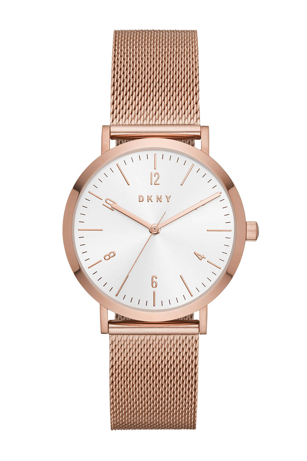 DKNY horloge Minetta NY2743, Rosé goud