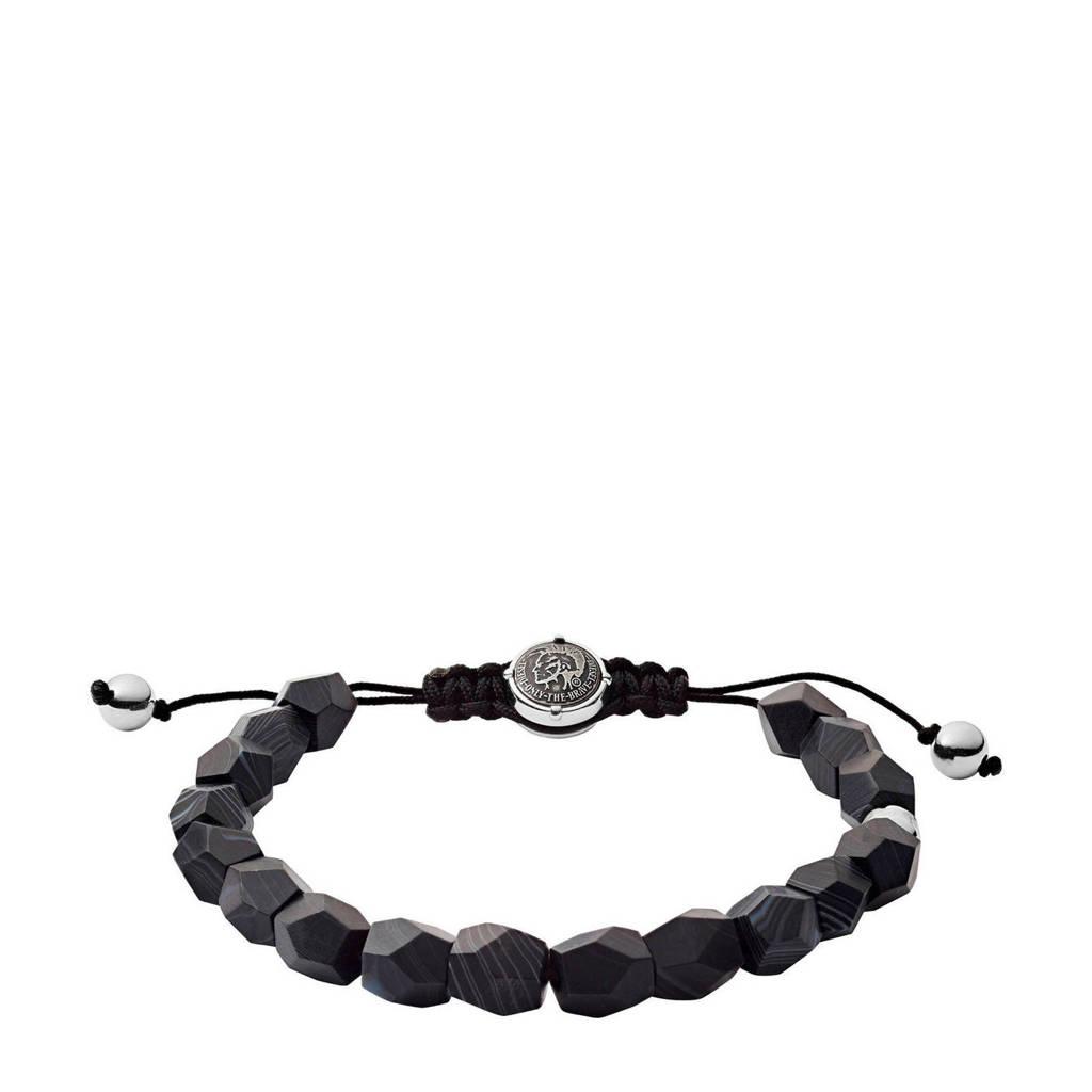 Diesel armband Beads DX1134040, Zwart