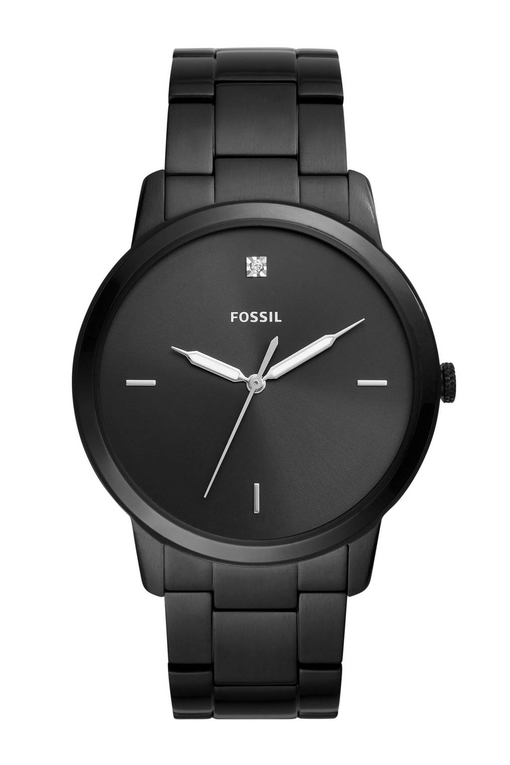 Fossil horloge The Minimalist FS5455, Zwart