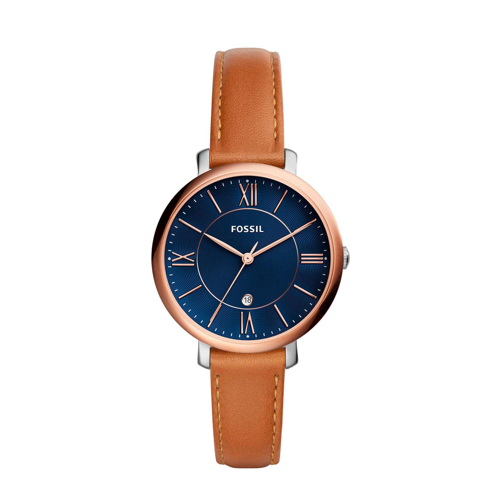 fossil horloge wehkamp