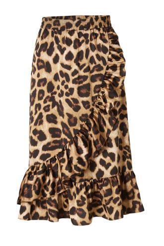 rok met luipaardprint