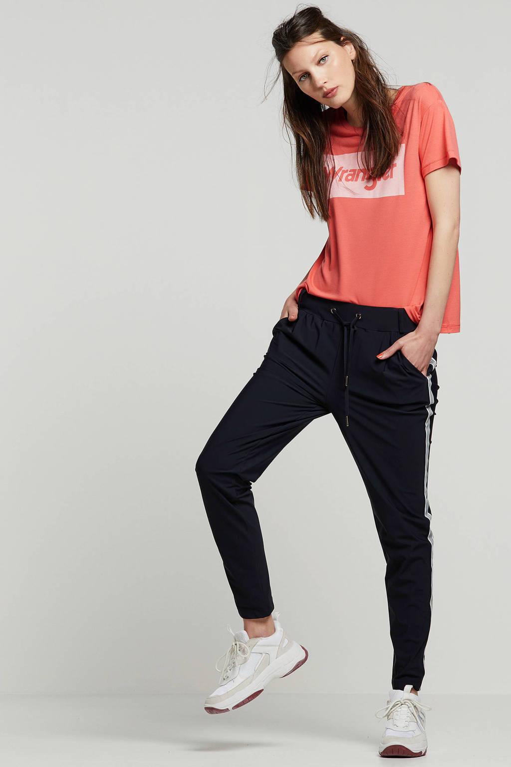 Wrangler t-shirt met printopdruk, Roze