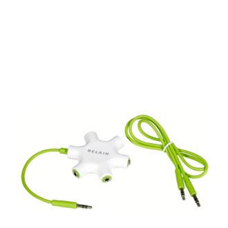 F8Z274EA 5-weg koptelefoon splitter Rockstar