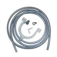 AEG DK11 universele afvoerset condensdroger, Blauw, wit