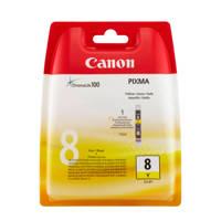 Canon CLI8YENEW inktcartridge (geel), Zwart