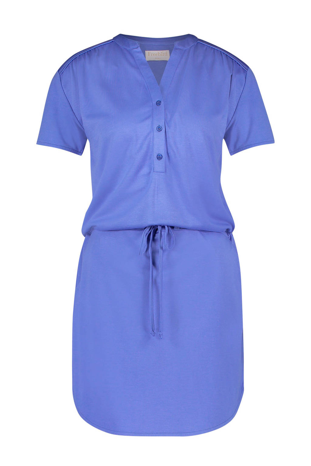 Freebird jurk met koord, Blauw
