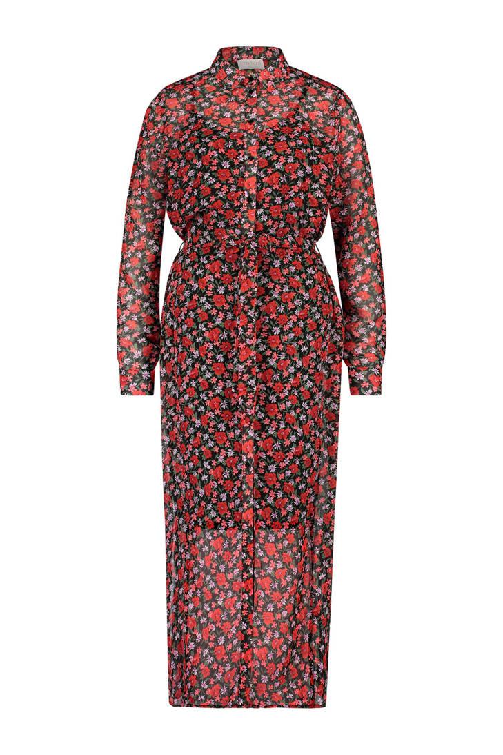 rood rood Freebird jurk gebloemde rood Freebird Freebird gebloemde gebloemde jurk jurk T4n6gg