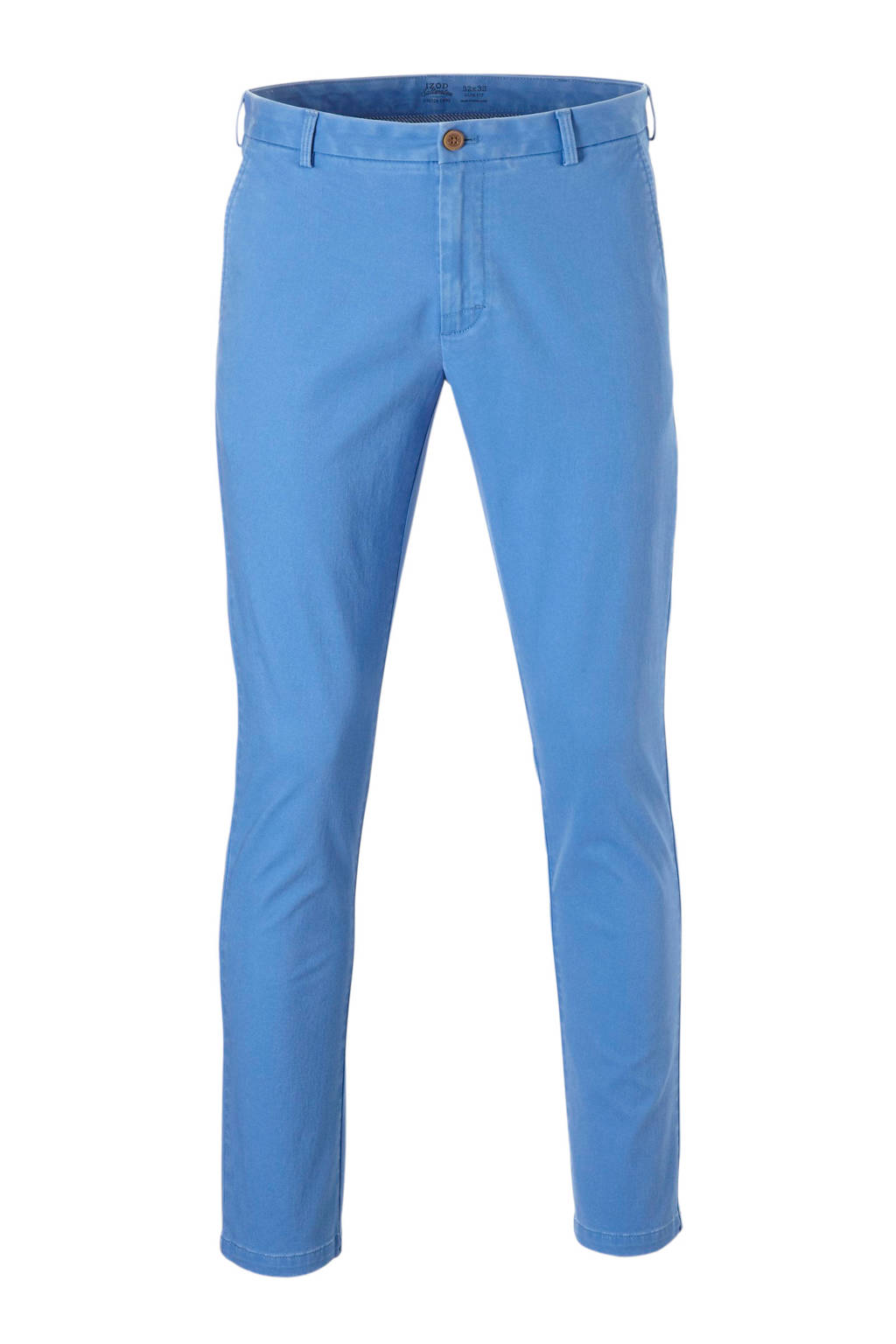 IZOD slim fit chino, Blauw