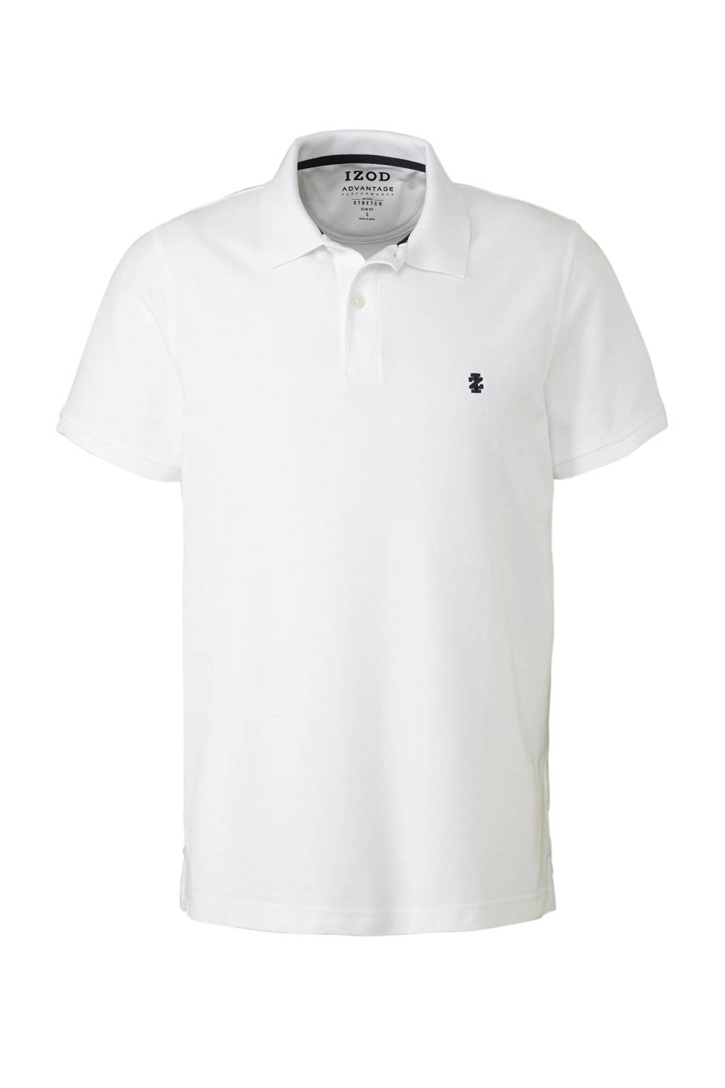 IZOD slim fit polo marine, Wit