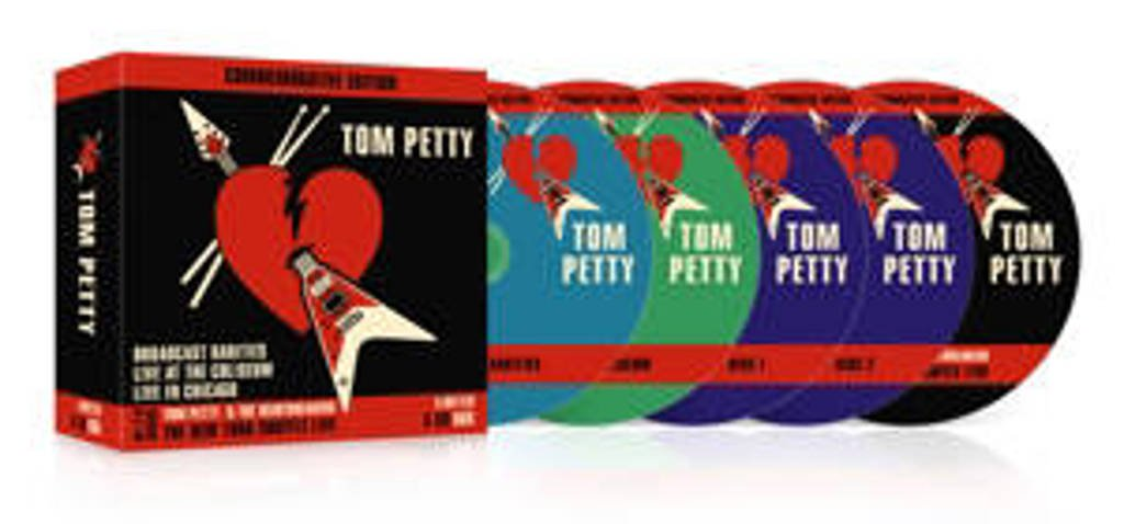 Tom Petty - Commemorative Edition 5Cd (CD)