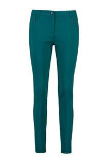 Expresso slim fit broek turquoise