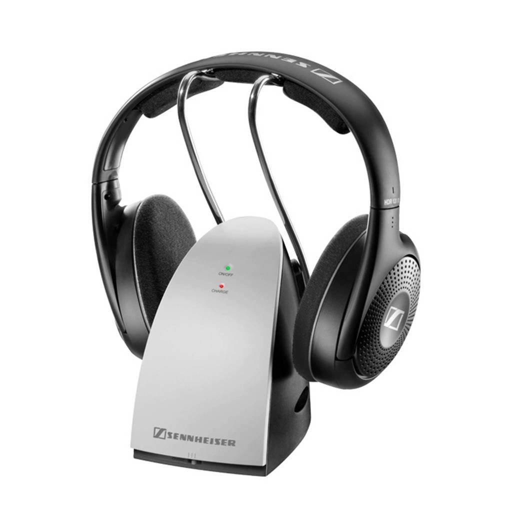 Sennheiser RS 120 II draadloze over ear koptelefoon zwart, Zwart, zilver