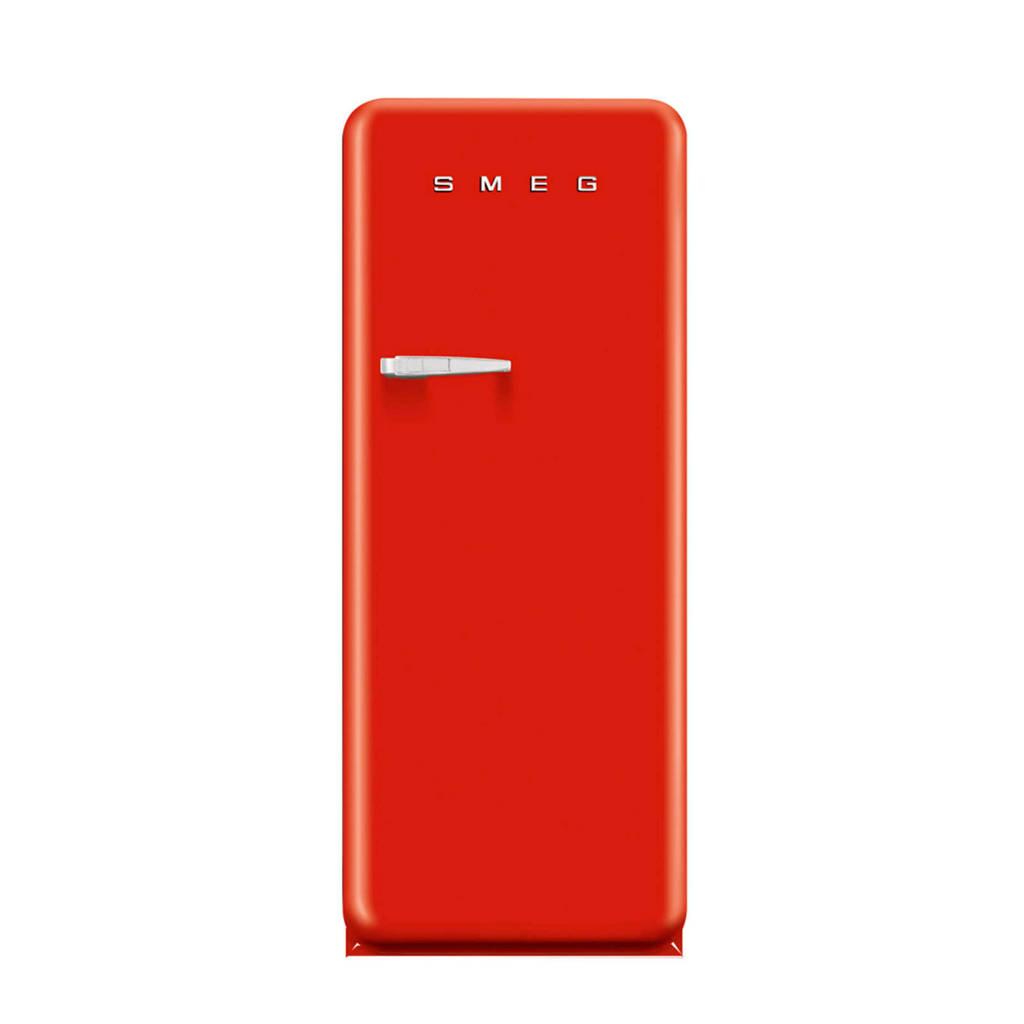 Smeg FAB28RR1 koelkast, Rood