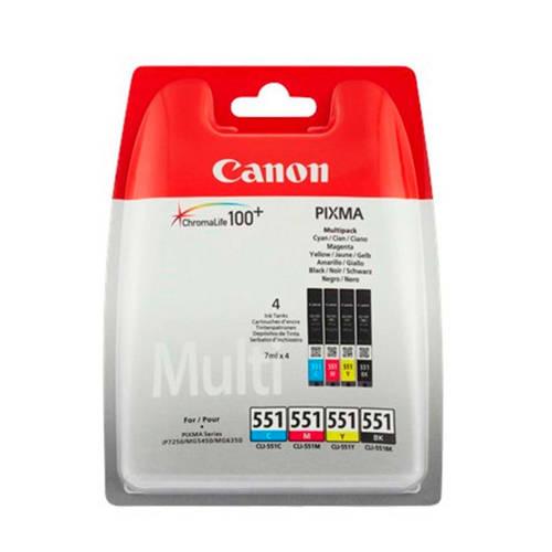 Canon CLI551MULT multipack inktcartridge (zwart+kleur) kopen