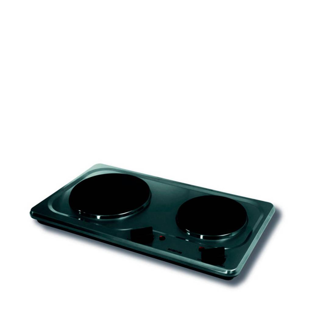 Inventum KP521S elektrische kookplaat, Roestvrijstaal