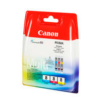 Canon CLI8PACK cartridge voordeelpak