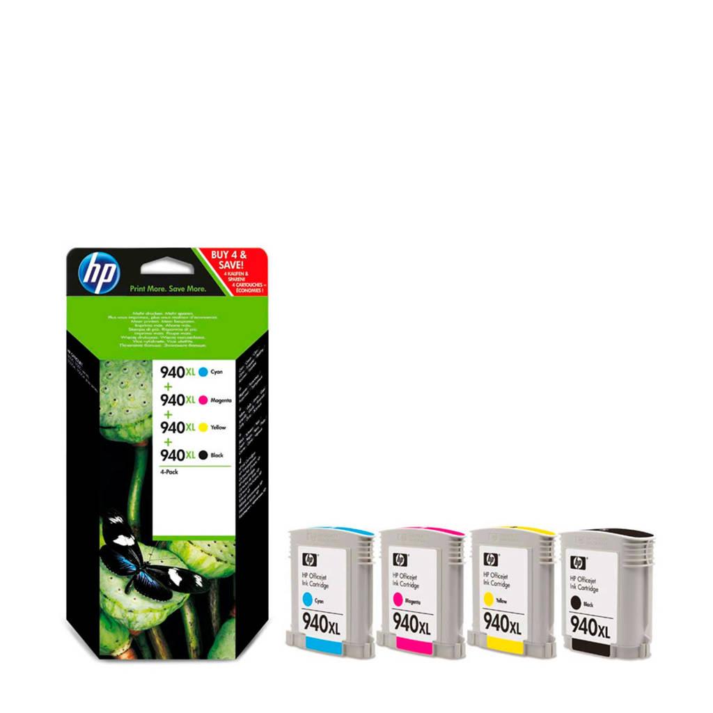 HP 940XLPACK inktcartridges 4-pack