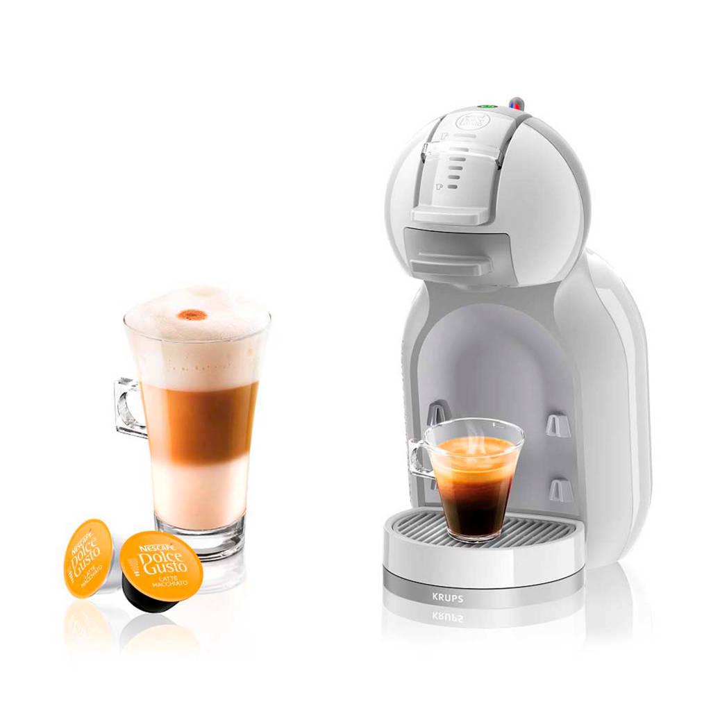 Krups KP1201 MiniMe Arctic Grey Nescafé Dolce Gusto, Grijs