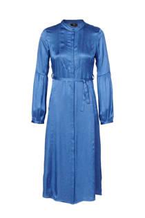 Mart Visser blousejurk met jacquard blauw (dames)