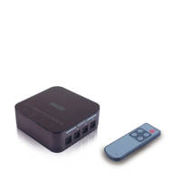 Marmitek optical audio switch CONNECTS41, Zwart