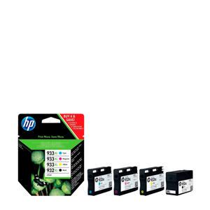 932933XL Multipack inktcartridges (zwart+kleur)