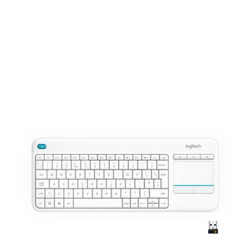 Logitech Wireless Touch K400 Plus WHT INT 2.4GHZ (920-007146)