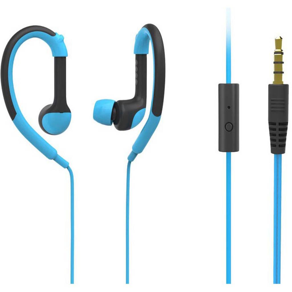Dcybel Urban Sport in-ear koptelefoon blauw, Blauw