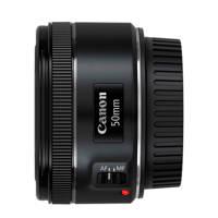 Canon EF 50MM STM Lens, Zwart