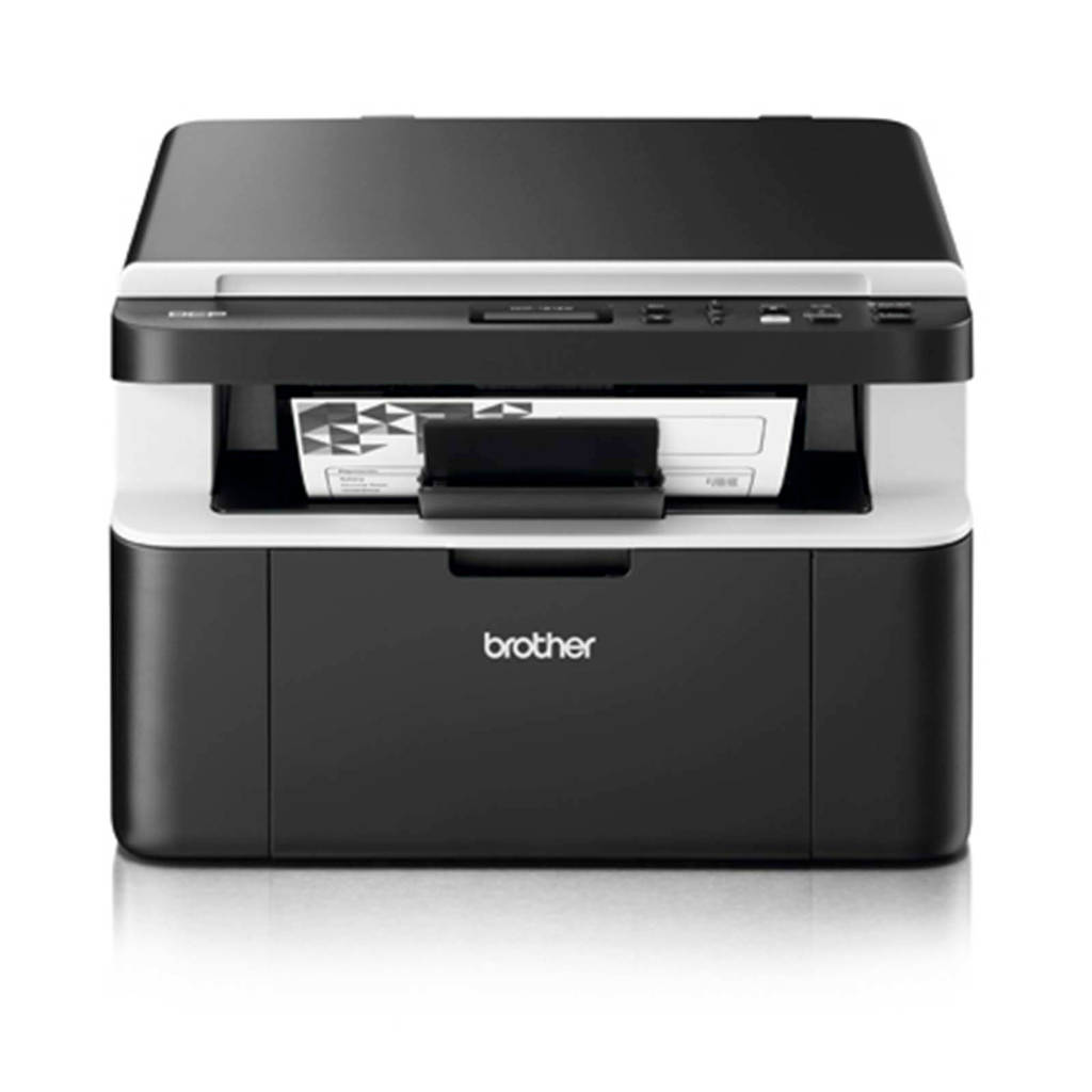 Brother DCP-1612W all-in-one laserprinter, Zwart, wit