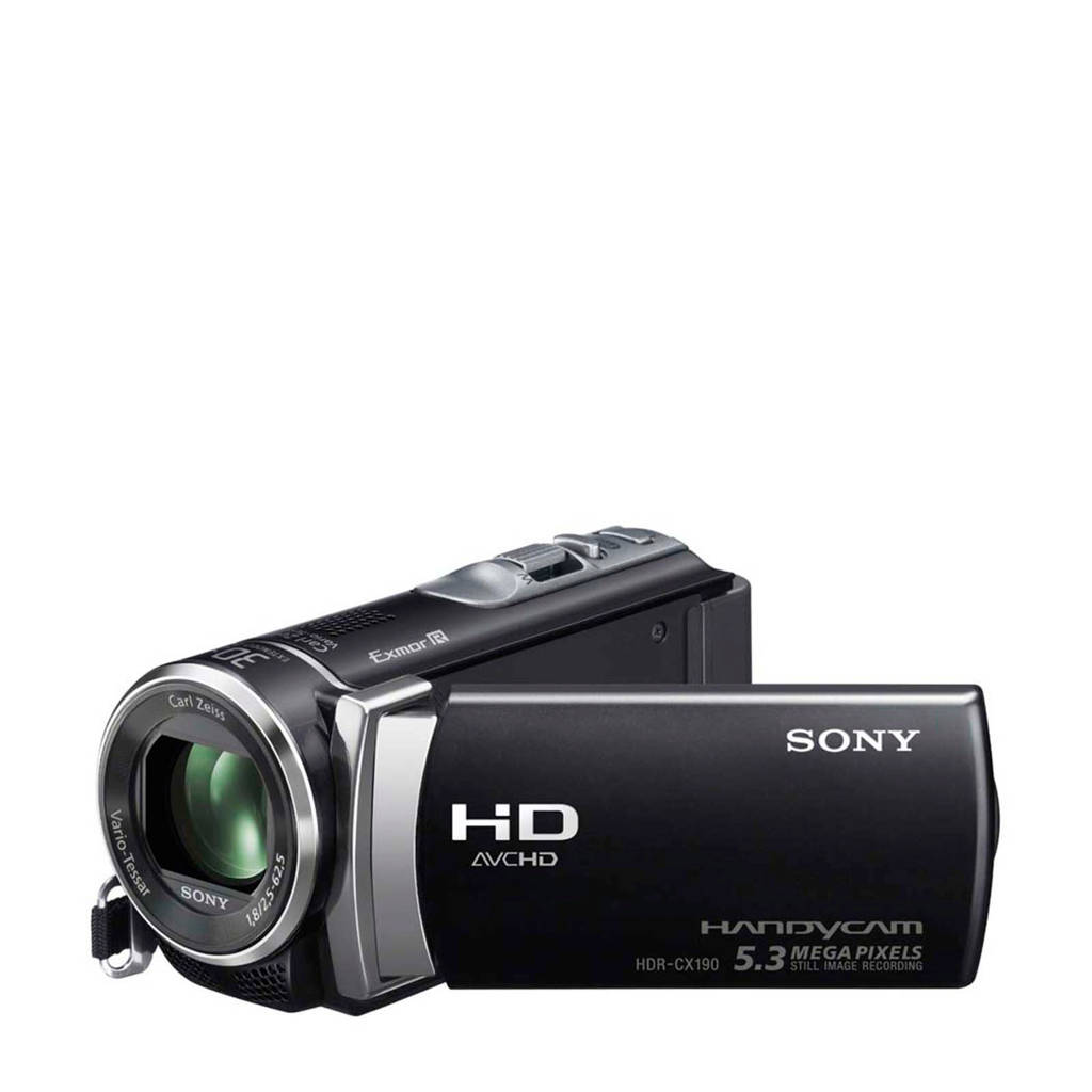 Sony HDR-CX450 camcorder, Zwart