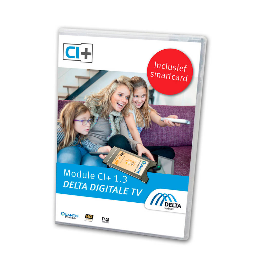 Quantis CI+DELTA DELTA Startpakket (smartcard)