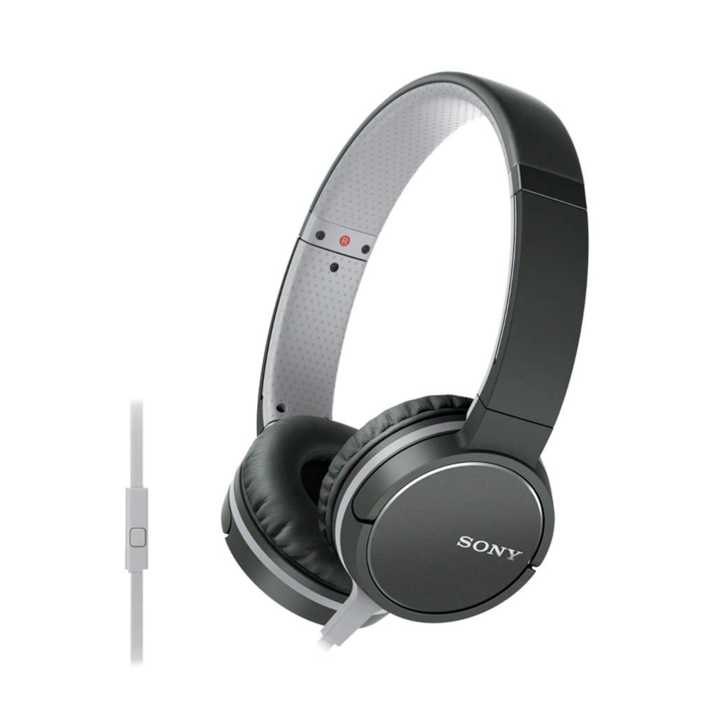 Sony MDRZX660 on-ear koptelefoon zwart, Zwart