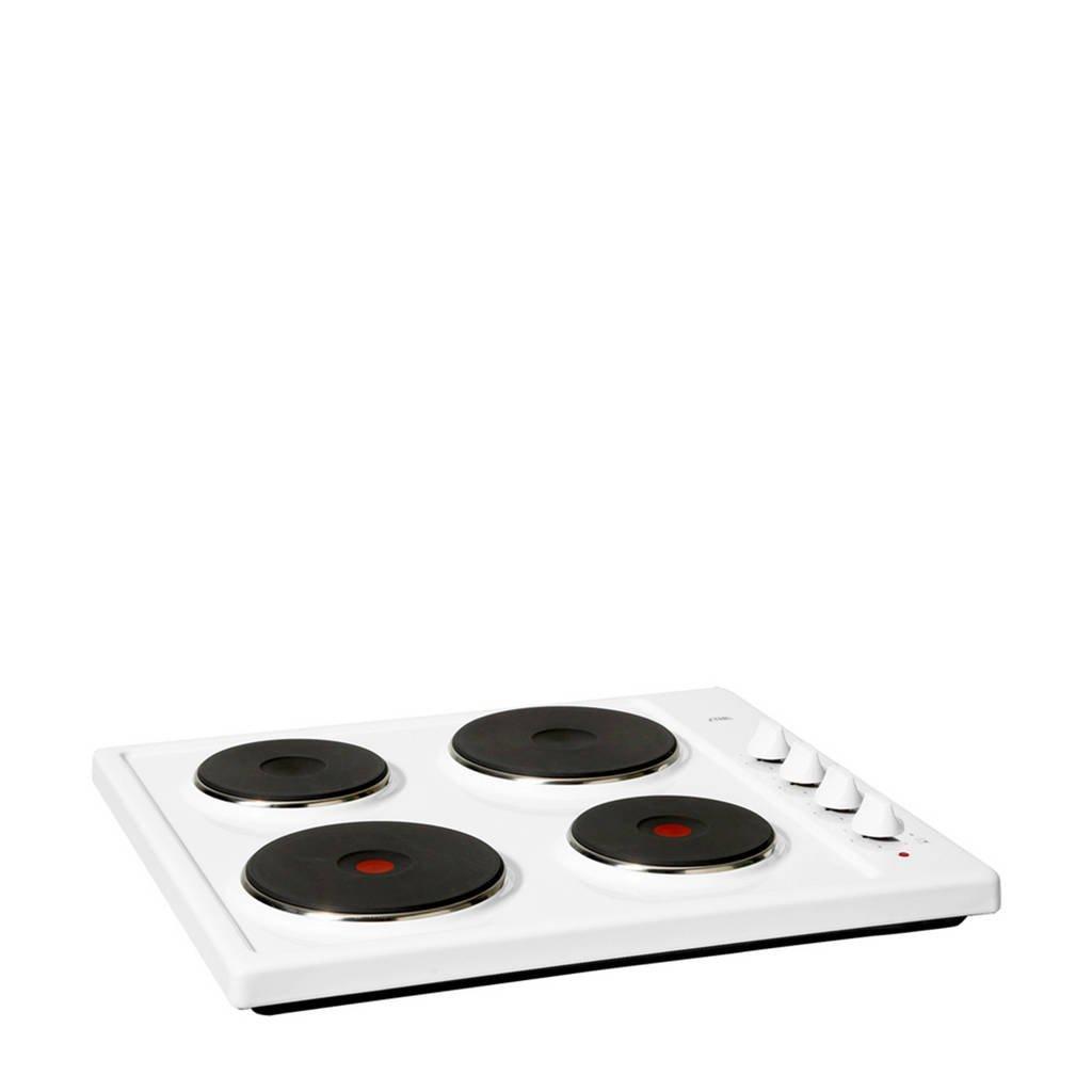 ETNA KEV158WIT elektrische kookplaat, Wit