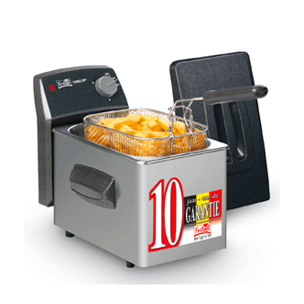 Fritel SF4049 Friteuse, Roestvrij staal